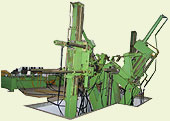 coil stretching machine